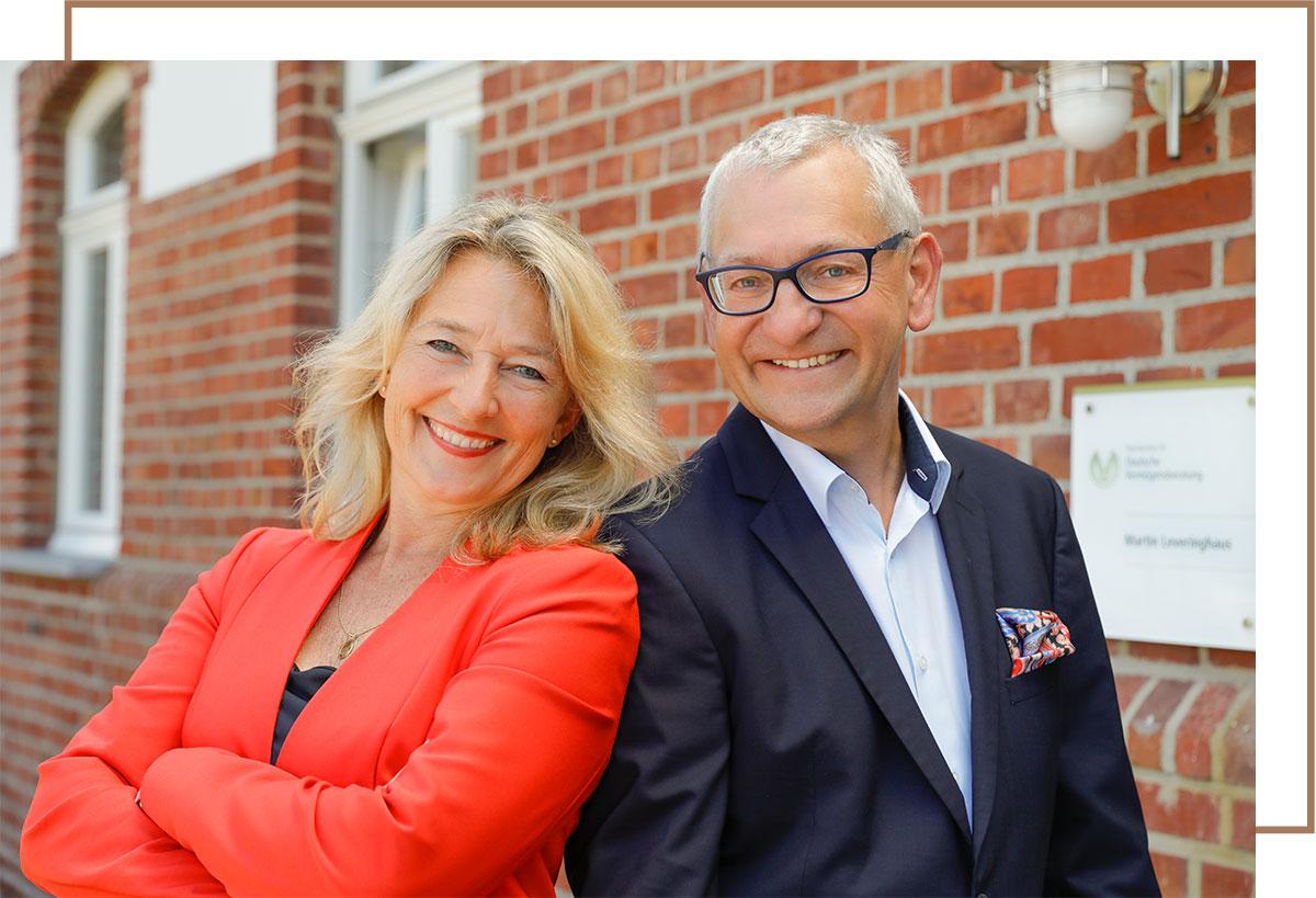 Finanzcoaches Marion und Martin Leveringhaus